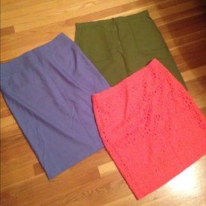 J Crew Skirt Bundle